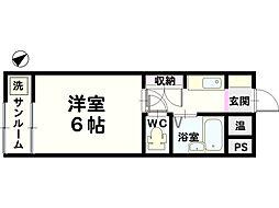 金沢ドーム5号館[306号室]の間取り