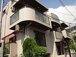 兵庫県神戸市東灘区岡本7丁目の賃貸マンションの外観