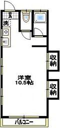 緑町グランドマンション[2階]の間取り