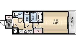 レジュールアッシュザパークフロント[10階]の間取り