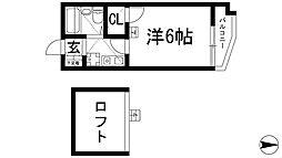 ZONE 1/f PART2[4階]の間取り