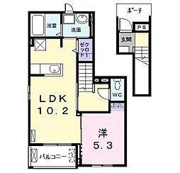 U・PLACE[2階]の間取り