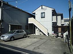 滋賀県大津市栄町の賃貸アパートの外観