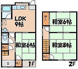 [テラスハウス] 広島県安芸郡海田町稲葉 の賃貸【/】の間取り