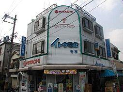 大阪府東大阪市布市町1丁目の賃貸マンションの外観