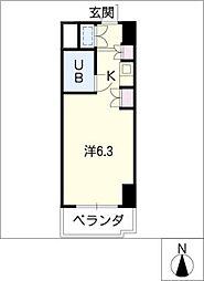 朝日プラザ名古屋ターミナルスクエア[10階]の間取り