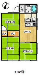 八日市場駅 3.5万円