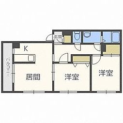 パレスイン・シマ[2階]の間取り