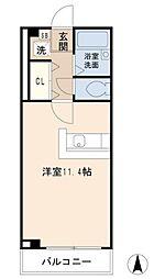 埼玉県川口市赤井3丁目の賃貸マンションの間取り