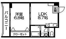 エスティ21[501号室]の間取り