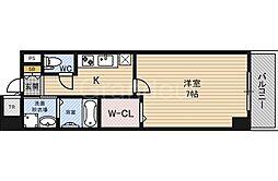 SEDNA 鶴見緑地[4階]の間取り
