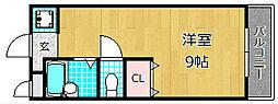 クレール長尾台[2階]の間取り