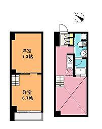 [テラスハウス] 埼玉県さいたま市浦和区東仲町 の賃貸【/】の間取り
