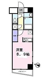 工芸館きうち2[5階]の間取り