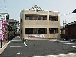 愛知県一宮市木曽川町外割田字東郷前の賃貸アパートの外観