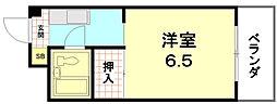 ぱんぷきんハウス[203号室]の間取り