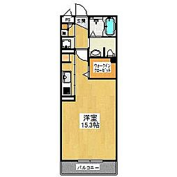 シャーメゾン桜[2階]の間取り