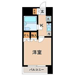 ラ・レジダンス・ド仙台[7階]の間取り