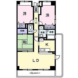 メゾン桜[0301号室]の間取り