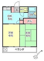 フォレスト5[403号室]の間取り