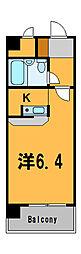 神奈川県横浜市西区平沼1の賃貸マンションの間取り