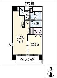 LIVE南新町[5階]の間取り