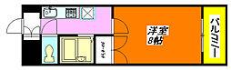 ユニティー・ハウス 503号室[5階]の間取り