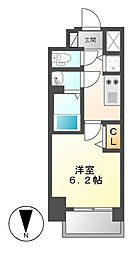 プレサンス丸の内城雅[5階]の間取り