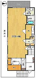 KMマンション[2階]の間取り