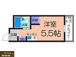プリマベーラ堺東[2階]の間取り