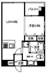 アインラウム[3階]の間取り