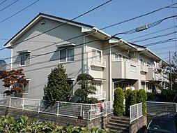 東京都町田市南成瀬2丁目の賃貸アパートの外観