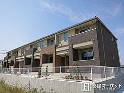 名鉄西尾線 福地駅 3.7kmの賃貸アパート