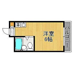 メゾンロワール[4階]の間取り