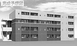 兵庫県姫路市飾東町庄の賃貸マンションの外観
