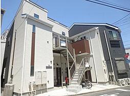 神奈川県横浜市鶴見区元宮1丁目の賃貸アパートの外観