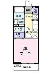 ベルリネッタ.224[2階]の間取り