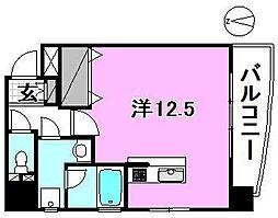 日興ビル持田[602 号室号室]の間取り