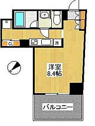 LEON-A[5階]の間取り