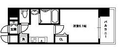 ララプレイス新大阪シエスタ[6階]の間取り
