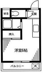TMコーポ[2階]の間取り