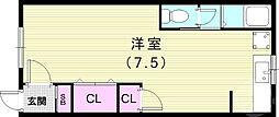 丸山駅 2.5万円