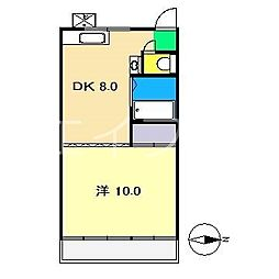 SACHIマンション[3階]の間取り