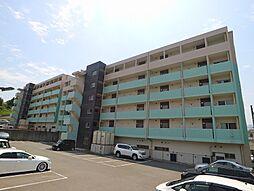 福岡県宗像市自由ヶ丘11丁目の賃貸マンションの外観
