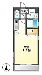 プリマベーラ名駅[2階]の間取り