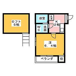 stage本星崎[2階]の間取り
