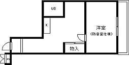 ノワ・アコルデ[3階]の間取り