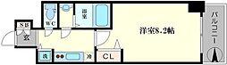 プライムアーバン御堂筋本町[8階]の間取り