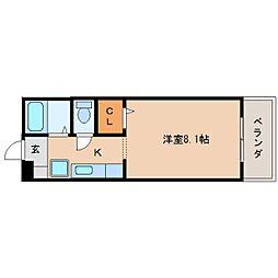 静岡県静岡市清水区真砂町の賃貸マンションの間取り