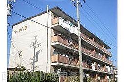 愛知県岡崎市戸崎町字沢田の賃貸マンションの外観